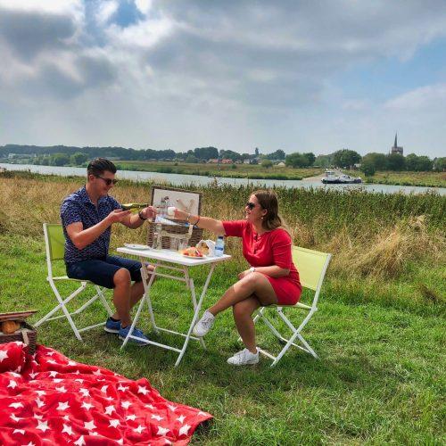 rivieren picknick
